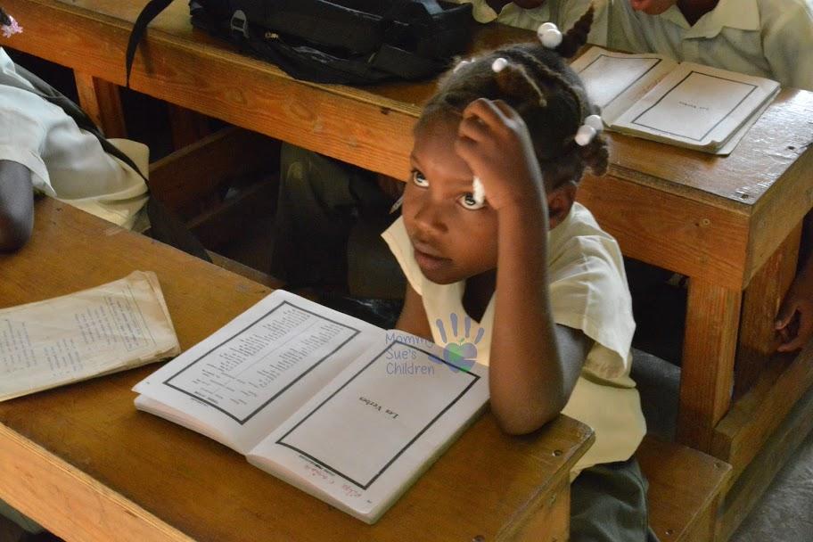 Haitian Schoolgirl