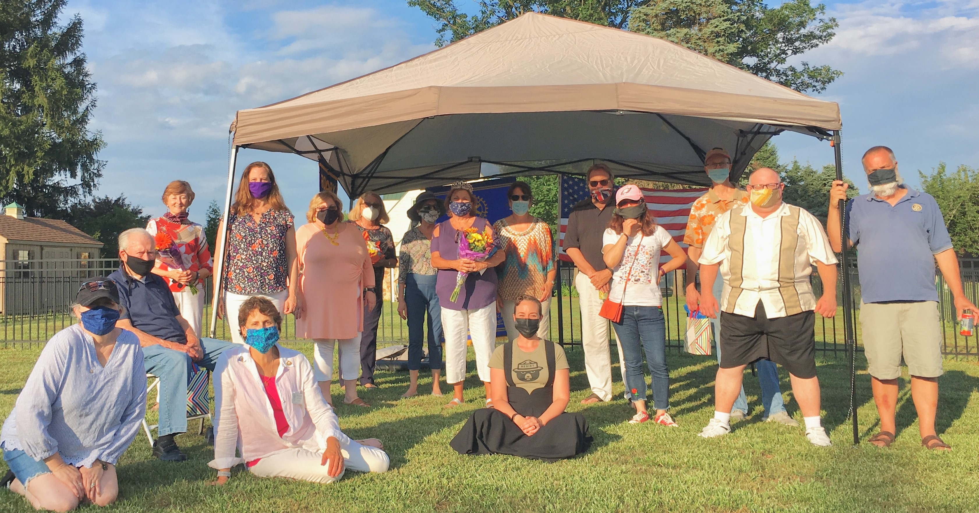 Rotary Club Installation Picnic July 2020